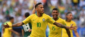 บราซิลพักการแข่ง